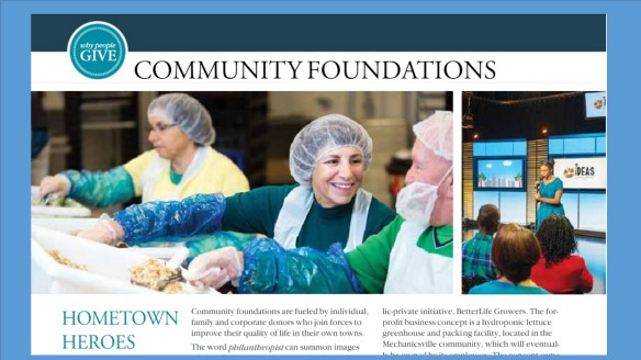 Delta Sky magazine feature on Community Foundations -- Julie Kendrick