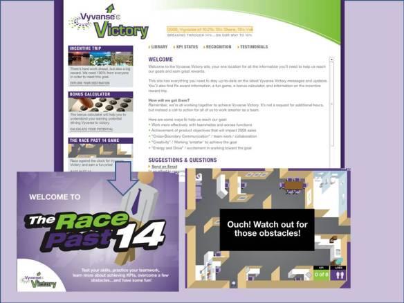 Vyvanse Victory Web Site Sample